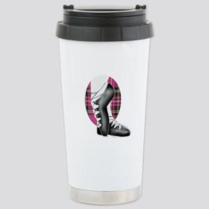 Third Position Hot Pink Stainless Steel Travel Mug