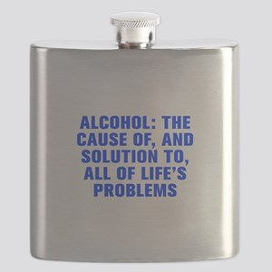 Alcohol The cause of and solution to all of life s