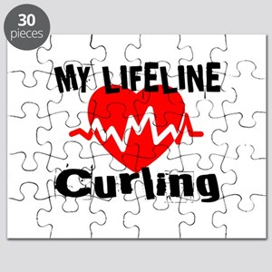 My Life Line Curling Puzzle