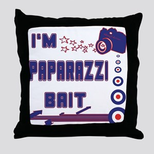 Paparazzi Bait Throw Pillow