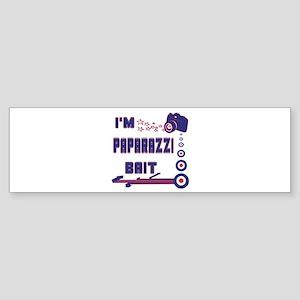 Paparazzi Bait Bumper Sticker