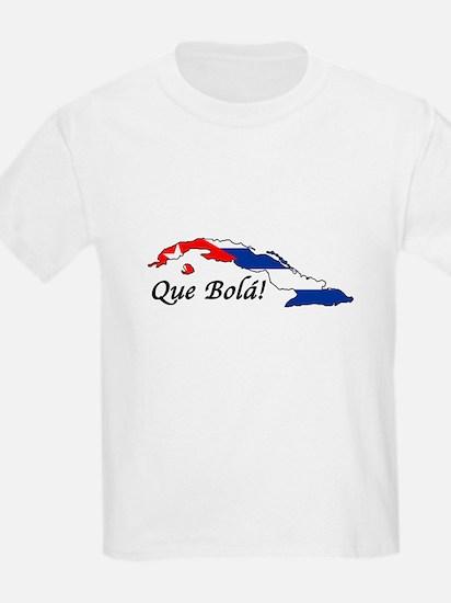 Que Bola! Kids T-Shirt