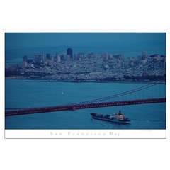 aerial san francisco photography Posters