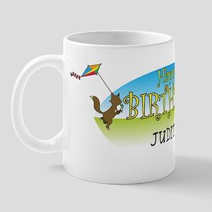Happy B-Day Judith (farm) Mug