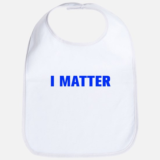 I Matter-Akz blue Bib