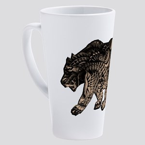 BEAR MARK 17 oz Latte Mug