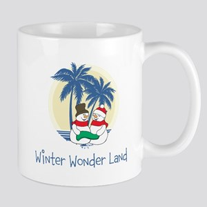 Winter Wonder Land Mugs