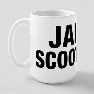 Jail Scooter Large Mug