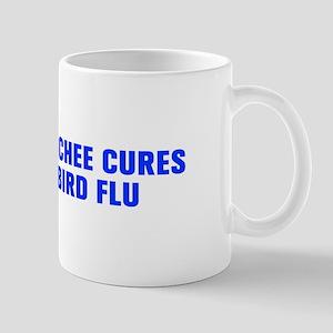 Kimchee cures bird flu-Akz blue Mugs