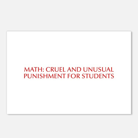Math cruel and unusual punishment for students-Opt