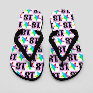 18th Super Star Flip Flops