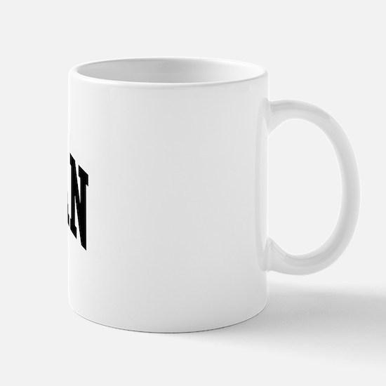 HOFFMAN (curve-black) Mug