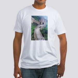 Great Wall Of China Fitted T-Shirt