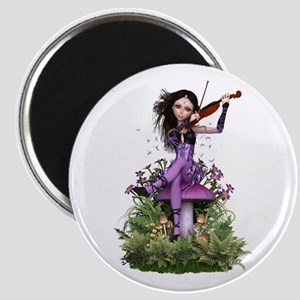 Amethyst Fairy ~ Summer Melody Magnets