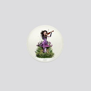 Amethyst Fairy ~ Summer Melody Mini Button