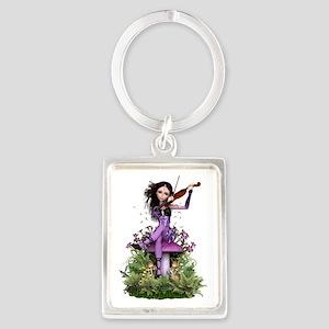 Amethyst Fairy ~ Summer Melody Keychains