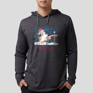 Merry Christmas North Pole She Long Sleeve T-Shirt