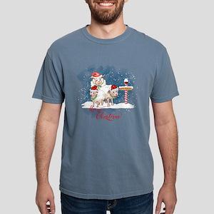 Merry Christmas North Pole Sheep T-Shirt