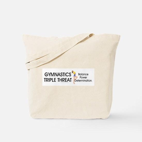 TOP Gymnastics Slogan Tote Bag