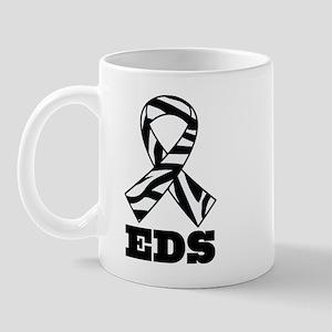 EDS Awareness Zebra Ribbon Mug
