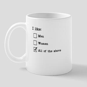 Sexuality form Mug