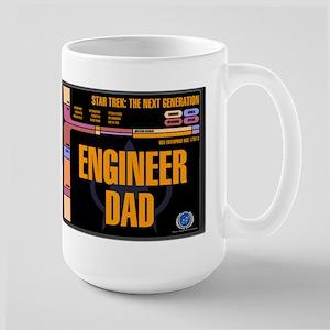 Engineer Dad Ceramic Travel Mugs