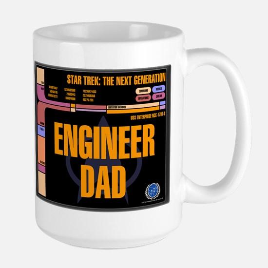 Engineer Dad Ceramic Travel Mugs