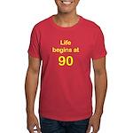 Life Begins at 90 Birthday T-Shirts