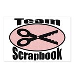 Team Srapbook Postcards (Package of 8)