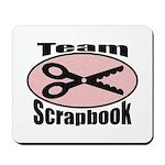 Team Srapbook Mousepad