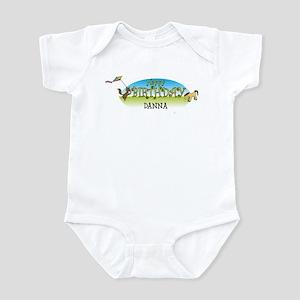 Happy B-Day Danna (farm) Infant Bodysuit