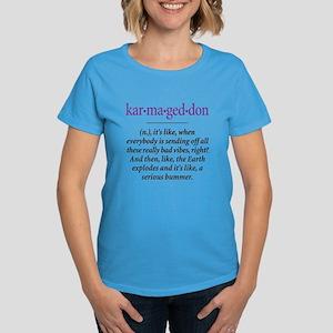 Karmageddon - Women's Dark T-Shirt