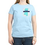 Women's Pink Tee for True Blue Mississippi LIBERAL