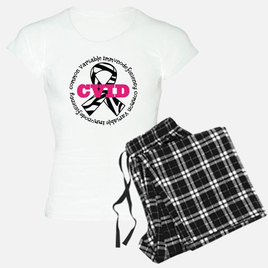CVID Zebra Ribbon pajamas