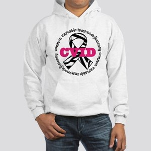 CVID Zebra Ribbon Hooded Sweatshirt