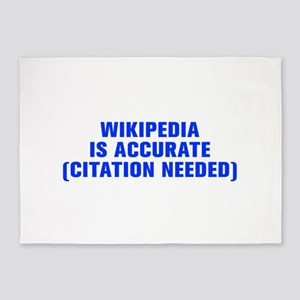 Wikipedia is accurate citation needed-Akz blue 5'x
