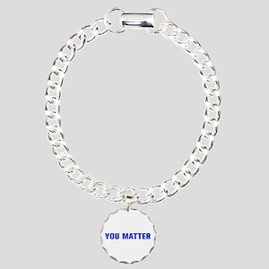 You Matter-Akz blue Bracelet