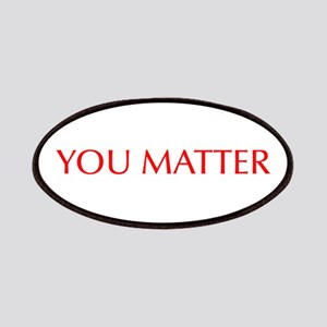 You Matter-Opt red Patches