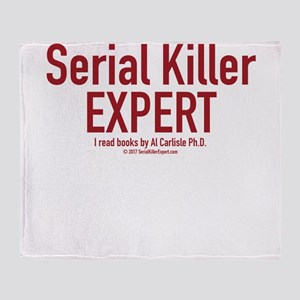 Serial Killer Expert Throw Blanket