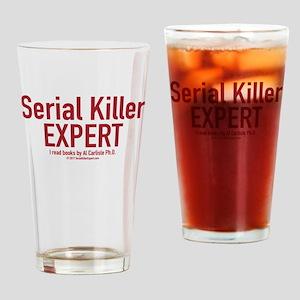 Serial Killer Expert Drinking Glass