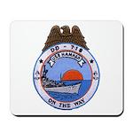 USS HAMNER Mousepad