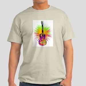 rock guitar graphics Light T-Shirt