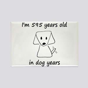 85 dog years 6 - 2 Magnets