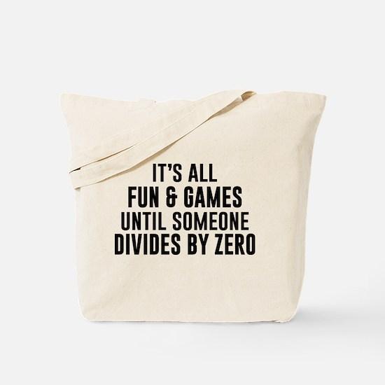 Divide By Zero Tote Bag