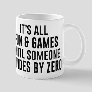 Divide By Zero 11 oz Ceramic Mug