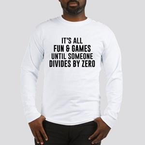 Divide By Zero Long Sleeve T-Shirt