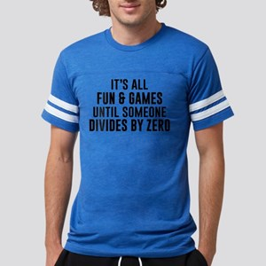 Divide By Zero Mens Football Shirt