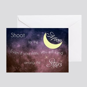 Motivational Les Brown Shoot for the Greeting Card