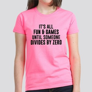 Divide By Zero Women's Dark T-Shirt