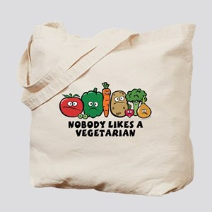 Nobody Likes a Vegetarian Tote Bag